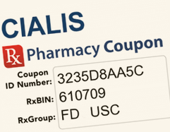 image regarding Printable Cialis Coupon titled Cialis Charges, Coupon codes And Affected individual Aid Systems